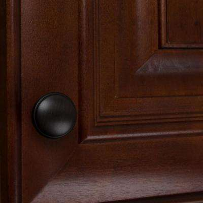 1-1/8 in. Dia Oil Rubbed Bronze Round Ring Cabinet Knob (10-Pack)
