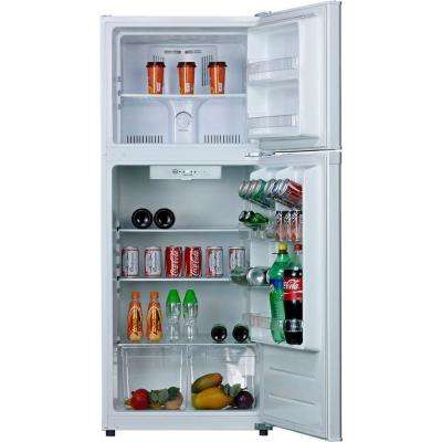 Frost-Free 12 cu. ft. Top Freezer Refrigerator in White