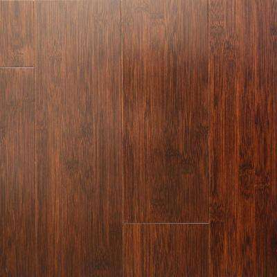 Auburn .625 in. Thick x 5 in. Wide x 39.375 in. Length Horizontal Bamboo Hardwood Flooring (27.34 sq. ft. / case)