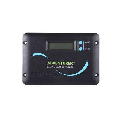 Adventurer 30 Amp PWM Flush Mount Charge Controller with LCD Display