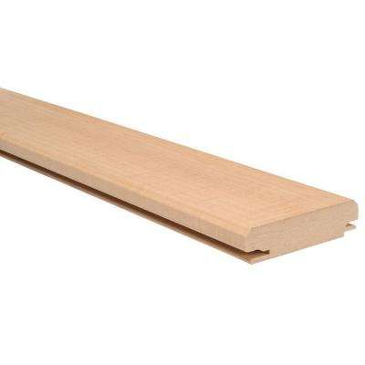 Supreme Wainscot 31-5/16 in. MDF Tongue and Groove Charleston Maple Batten (6-Pack)