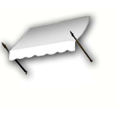 45 ft. New Orleans Awning (56 in. H x 32 in. D) in Off-White