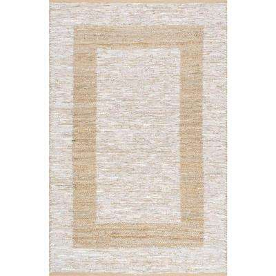 Naoma Silver 5 ft. x 8 ft. Area Rug
