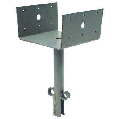 6 in. x 6 in. 12-Gauge Elevated Post Base