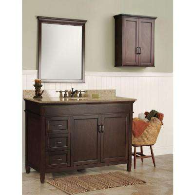 Ashburn 48 in. W Bath Vanity Cabinet Only in Mahogany