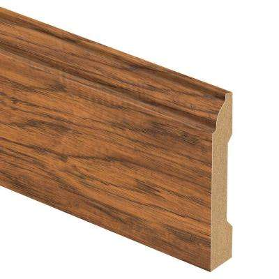 Haywood Hickory 9/16 in. Thick x 3-1/4 in. Wide x 94 in. Length Laminate Base Molding