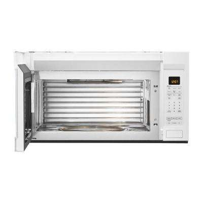 1.9 cu. ft. Over the Range Microwave with Dual Crisp Function in White