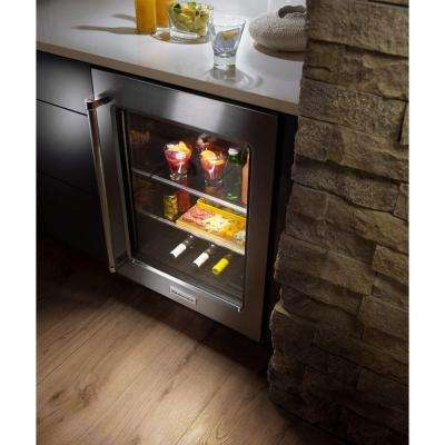 5.1 cu. ft. Undercounter Refrigerator in Stainless Steel