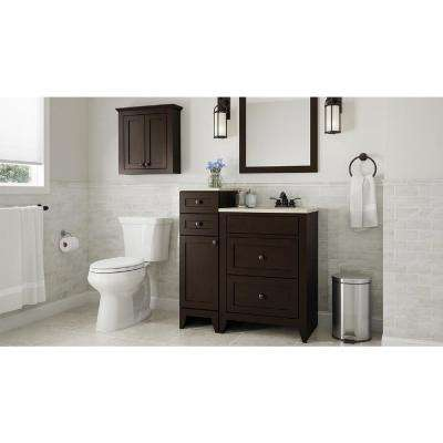 Modular 24 in. x 31 in. Framed Vanity Mirror in Java