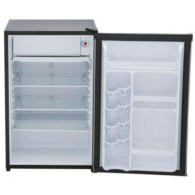 4.44 cu. ft. Mini Fridge in Stainless Look