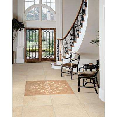 Castle 18 in. x 18 in. Honed Travertine Floor and Wall Tile (9 sq. ft. / case)
