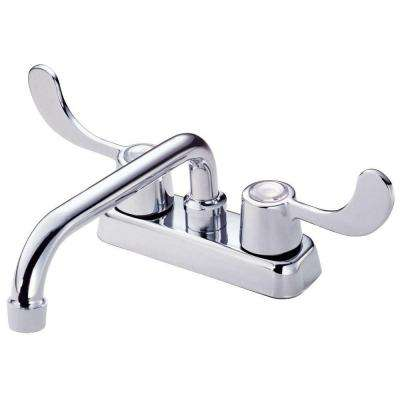 Melrose 2-Handle Laundry Faucet in Chrome-DISCONTINUED