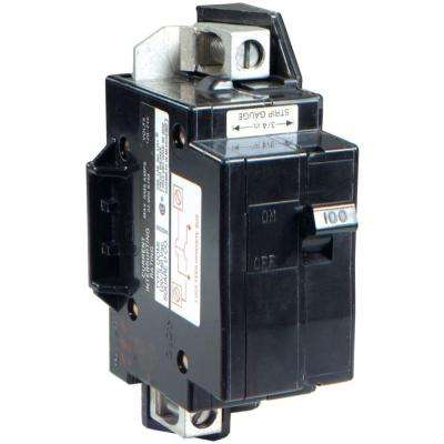 QO 100 Amp 22k AIR QOM1 Frame Size Main Breaker for QO or Homeline 125 Amp or less Rated Load Centers