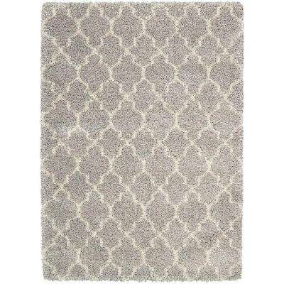 Amore Ash 3 ft. 11 in. x 5 ft. 11 in. Area Rug