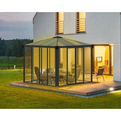 Ledro 3000 10 ft. x 10 ft. Enclosed Gazebo and Spa Enclosure