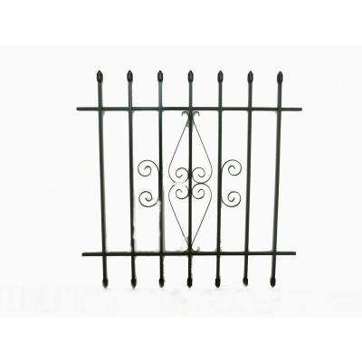 36 in. x 36 in. Spear Point Window Bar Guard