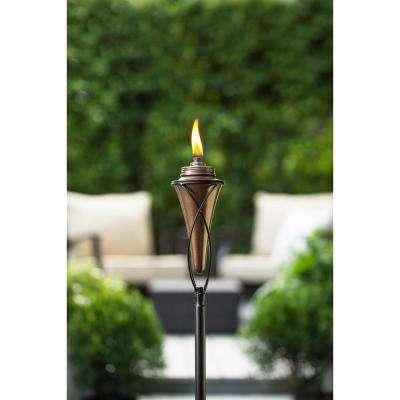 65 in. Kiawah Metal Torch Copper