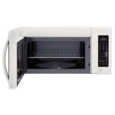 2.0 cu. ft. Over the Range Microwave in Smooth White with EasyClean and Sensor Cooking