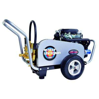 Water Shotgun 5,000 psi 5.0 GPM Gas Pressure Washer Powered by Honda