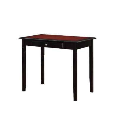 Camden Home Office Desk in Black Cherry