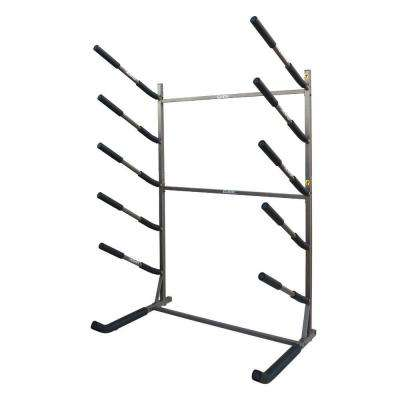 Glacik Tier Freestanding Rack for SUP and Surf Storage Bronze
