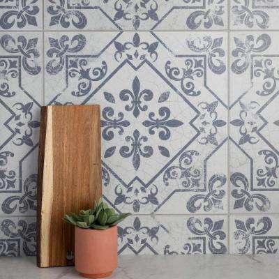 White 18x18 Ceramic Tile Tile The Home Depot