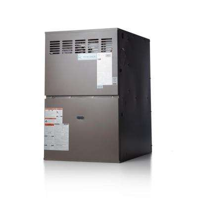 80% AFUE 110,000 BTU Multi-Position Multi-Speed Gas Furnace with LP Kit