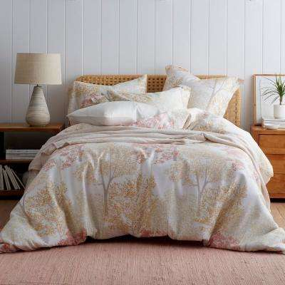 Tree Blossom Tencel Sateen Duvet Cover