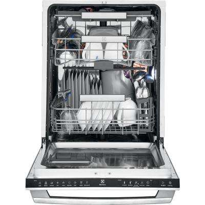 IQ-Touch Top Control Built-In Tall Tub Dishwasher in Stainless Steel with Stainless Steel Tub and 3rd Rack, ENERGY STAR