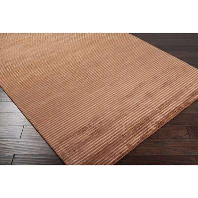 Rebordosa Brick 3 ft. x 10 ft. Runner Rug
