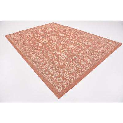 Outdoor Allover Terracotta 8' 0 x 11' 4 Area Rug
