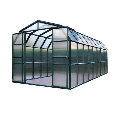 Grand Gardener 8 ft. x 16 ft. Opaque Greenhouse