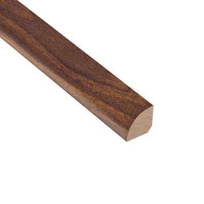 High Gloss Ladera Oak 3/4 in. Thick x 3/4 in. Wide x 94 in. Length Laminate Quarter Round Molding