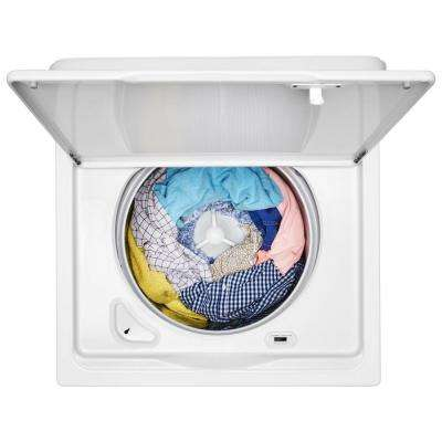 3.9 cu. ft. High-Efficiency White Top Load Washing Machine with Soaking Cycles