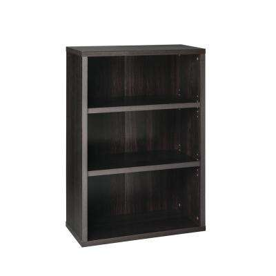 ClosetMaid 44 inch x 30 inch Black Walnut Decorative 3-Shelf Unit