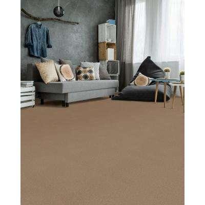 Hot Shot II - Color Tuscan Texture 12 ft. Carpet