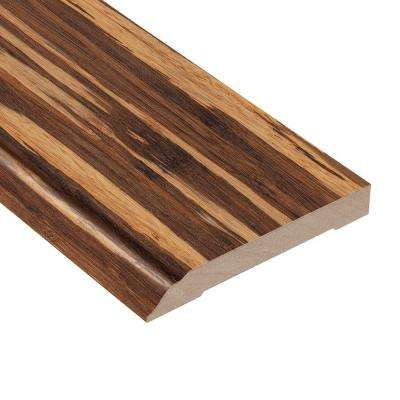 Makena Bamboo 1/2 in. Thick x 3-13/16 in. Wide x 94 in. Length Laminate Wall Base Molding