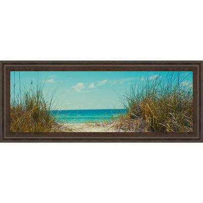 "18 in. x 42 in. ""Perfect Day I"" by Susan Bryant Framed Printed Wall Art"