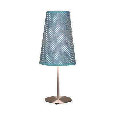 15.25 in. Blue Table Lamp-DISCONTINUED