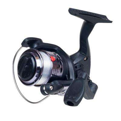 Silver Spinning Reel with Fishing Line