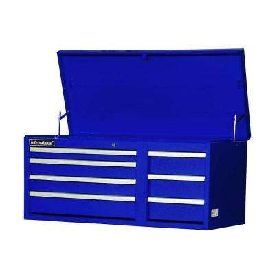 Workshop Series 42 in. 7-Drawer Top Chest, Blue