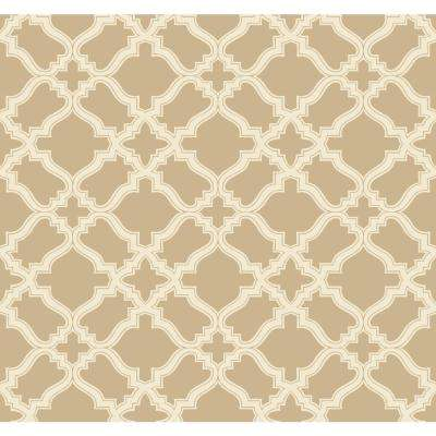60.75 sq. ft. Modern Shapes Cathedral Wallpaper