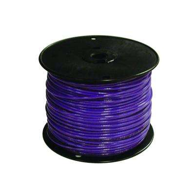 500 ft. 16 Purple Stranded TFFN Fixture Wire -