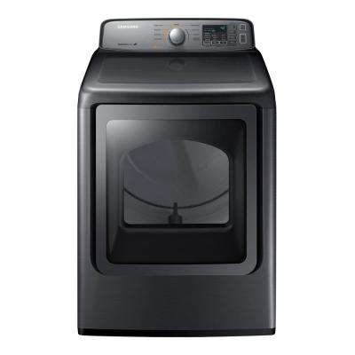 7.4 cu. ft. Electric Dryer in Platinum