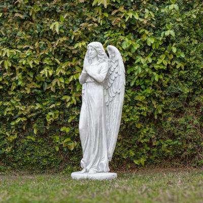 Praying Angel Statue, Outdoor Yard Art Decor