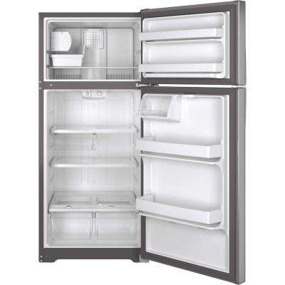 15.5 cu. ft. Top Freezer Refrigerator in Stainless Steel, ENERGY STAR