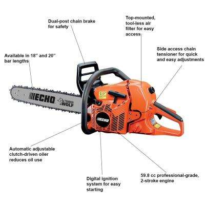 Gas Chainsaws - Chainsaws - The Home Depot
