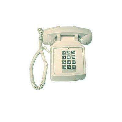 Desk Corded Telephone with Volume Control - White
