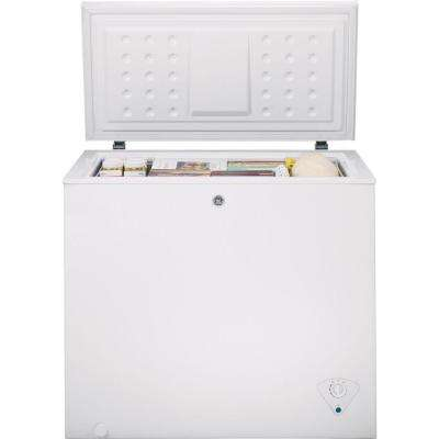 7.0 cu. ft. Manual Defrost Chest Freezer in White