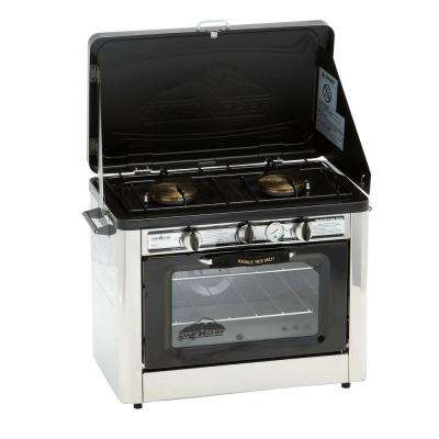 Outdoor Double Burner Propane Gas Range and Stove